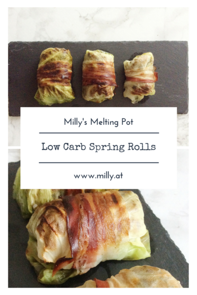This tasty alternative to classic spring rolls will give you all the satisfaction of a traditional indian recipe, with the added plus of being low carb! #recipe #lowcarb #indian #fusion