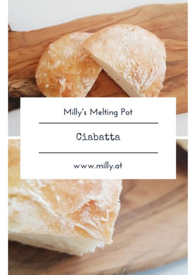 Ich glaube jeder kann sich vorstellen wie herrlich es ist, in ein frisches, knuspriges mit Sauce getränktes Stück Ciabatta Brot zu beißen. #Brot #rezept #slowbaking #knusprig