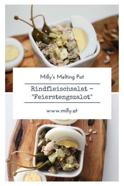 Es geht nichts über diese luxemburger Spezialität, die viele verschiedene Aromen auf ganz spezielle Art kombiniert - Feierstengszalot! #rezept #fleisch #luxemburg