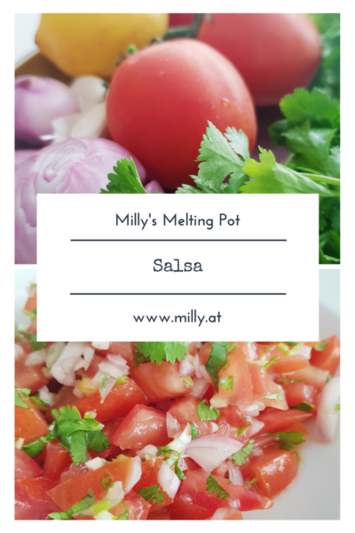 This red salsa is fresh and tasty! Besides being amazing with crisps, it can also be served with fish or meat. My favourite is a piece of salmon with this red salsa..hmmm. #salsa #recipe #snacks #summer