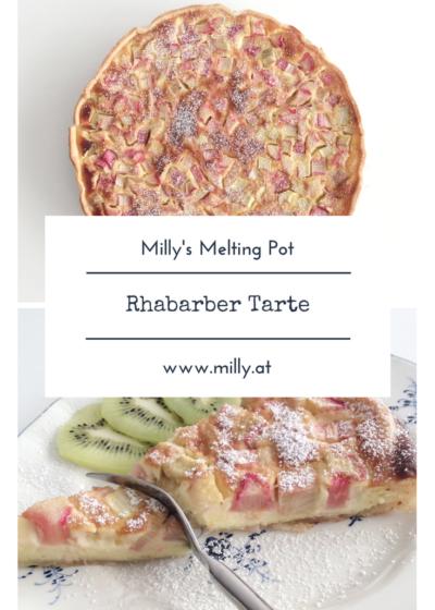 Rhabarber ist eineder ersten Vorboten des Frühlings und kann in vielen Art und Weisen verarbeitet werden! Mein Lieblingsrezept ist aber noch immer diese einfache und schnelle Tarte! #rhabarber #tarte #rezept #schnell