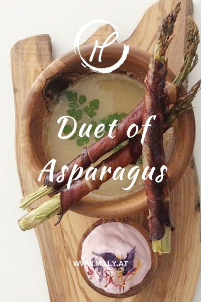 So spring is almost upon us, and with it a wonderful choice of healthy veggies! One of my #favorites are asparagus, because they are #delicious and so #versatile :) In my recipe find out how you can quickly prepare green #asparagus wrapped in #bacon or in this case traditional Schinkenspeck or how to use white asparagus to make a tasty soup!