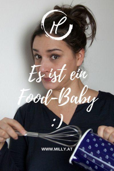 Hat dich schon jemand gefragt wann e den soweit ist?...als du nicht schwanger warst? Mich schon - und ich habe Tränen gelacht! Ich bin aber jetzt stolz ankündigen zu dürfen, dass ich ein Food-Baby erwarte!