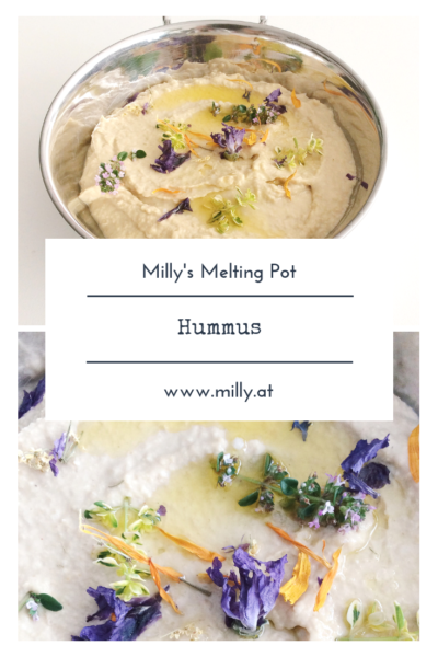 Try this homemade Hummus - it is delicious, oily, garlicky and nutty and is done in 30 seconds! Dip in some fresh warm bread or replace your butter with this healthy recipe!