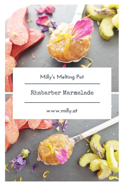 Dieses ultra schnelle Rezept für Rhabarber Marmelade wird dich das ganze Jahr erfreuen! #rhabarber #frühling #marmelade #süss #frühstück