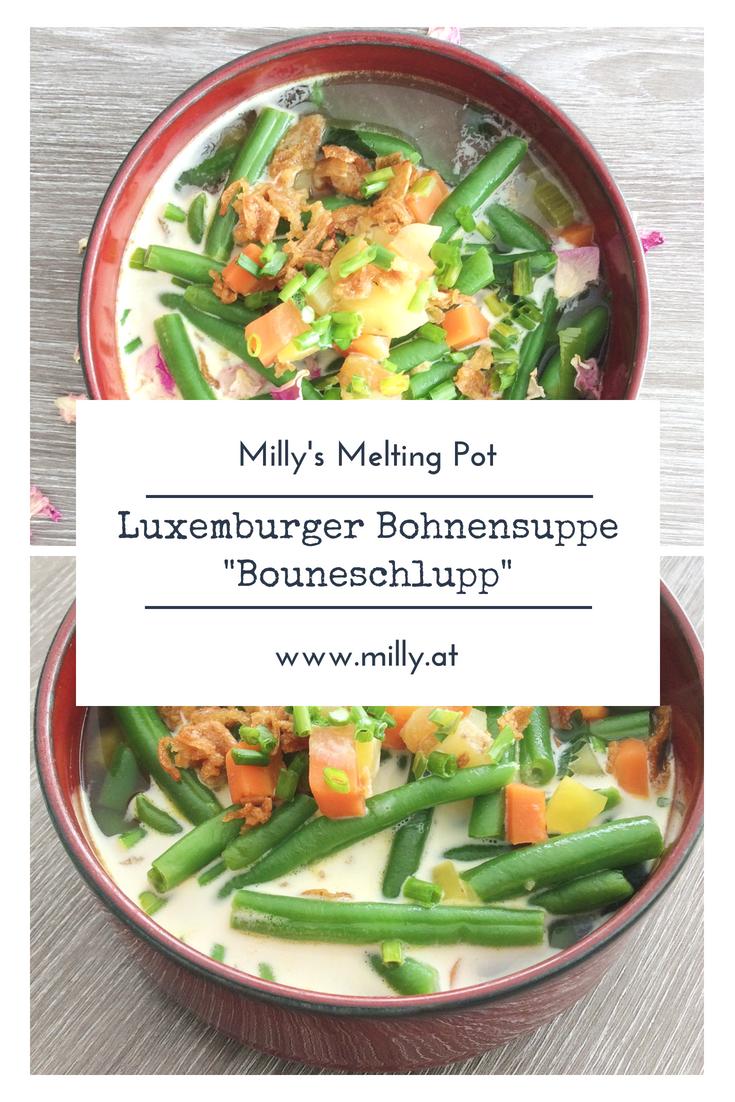 """Luxemburg ist ein geheimes Juwel inmitten von Europa! Und ein #Nationalgericht und Leibspeise der Luxemburger ist die traditionelle Bohnensupee """"Bouneschlupp""""! #luxemburg #suppe #rezept"""