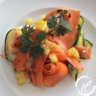 Salat, salad, chilli, carrots karotten, zucchini, fresh, recipe, frischm rezept, Chili-Karotten Salat, chillied carrots