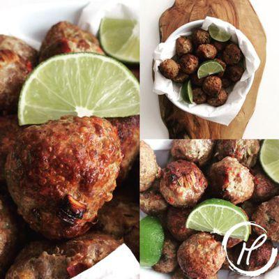 Fleischbällchen, meatballs, hackfleisch, minced meat, herbs, gewürze, kräuter, spices