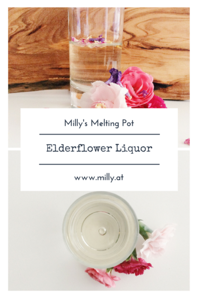 This elderflowerliquor is an ideal gift and a perfect supplement in your summer cocktails..#liquor #recipe #drink #cocktails #easy