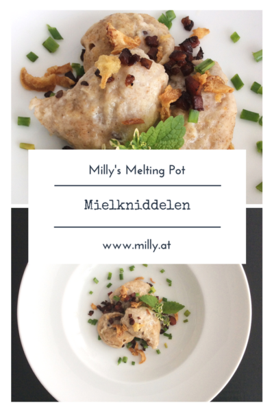 Discover this luxembourgish speciality Mielkniddelen - a typical dumpling. Tasty and delicious! #luxembourg #recipe #dumpling #mielkniddelen