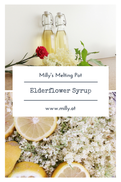 Elderflower syrup is a treat for your taste buds - as an syrup in your drink or as a food additive for its flavor, you will be amazed! #elderflower #syrup #recipe #homemade