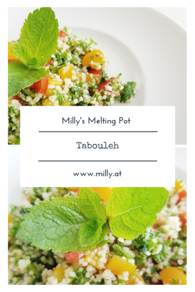 This traditional Tabouleh has the freshness of a summer salad, but it also gives you energy and fills you up. #summer #salad #middleeasternfood