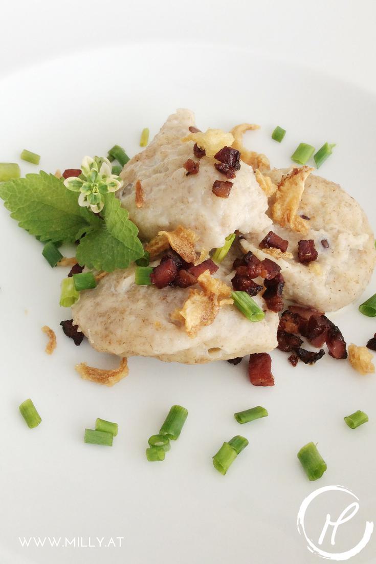 Probiere diese luxemburger Spezialität aus - Mielkniddelen, leckere kleine Knödel. #rezept #knödel #luxemburg #tradition