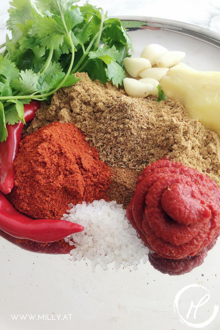Mache deine eigene Tikka Masala Paste und geniesse zuhause hausgemachtes indisches Essen! #Rezept #indisch #curry #paste #tikkamasala