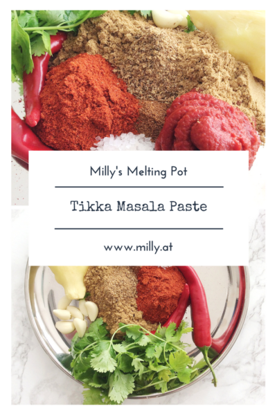 Make your own Tikka Masala paste and enjoy homemade delicious indian food at home! #recipe #indianfood #tikkamasala #curry #paste