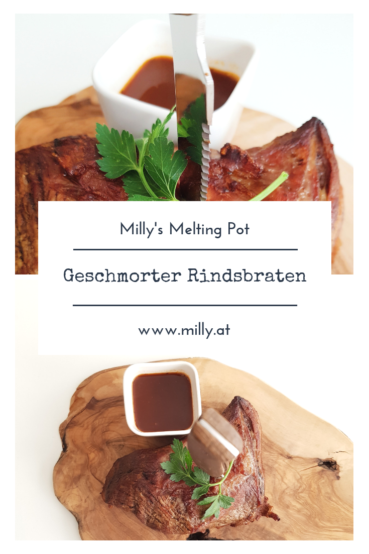Für einen wundervollen herzerwärmenden SOnntagsbraten ist dieses Rezept für Schmorbraten ideal! #fleisch #sonntag #braten