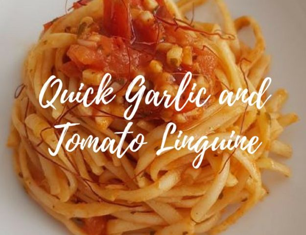 After the holidays, when you feel like a lighter dish, these linguine are perfect! Finished in 20 minutes and delicious!