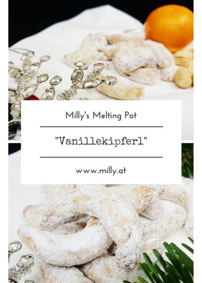 """Find this traditional recipe for austrian """"Vanillekipferl"""" on the blog! Many more recipes are waiting for you to try them out: quick, easy and tasty!!"""