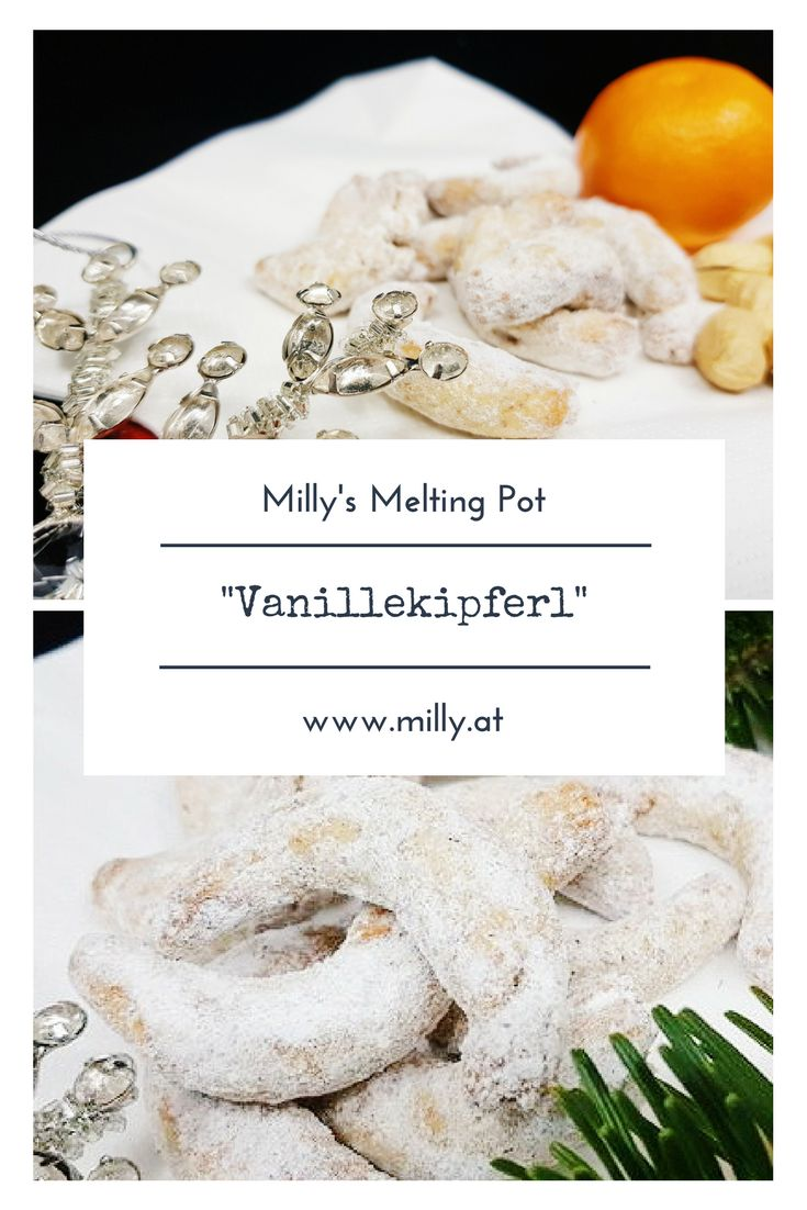 "Find this traditional recipe for austrian ""Vanillekipferl"" on the blog! Many more recipes are waiting for you to try them out: quick, easy and tasty!!"