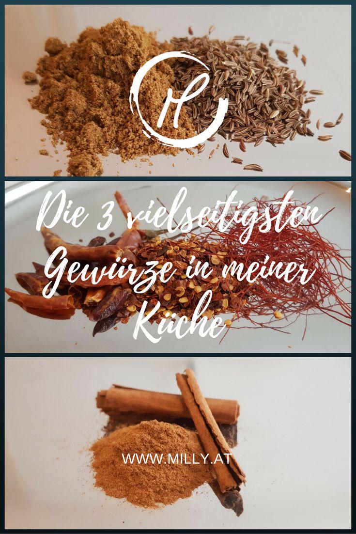 Entdecke die 3 vielseitigsten Gewürze in meiner Küche. Diese 3 verwende ich fast jeden Tag und gehören zu vielen internationalen Küchen einfach dazu!