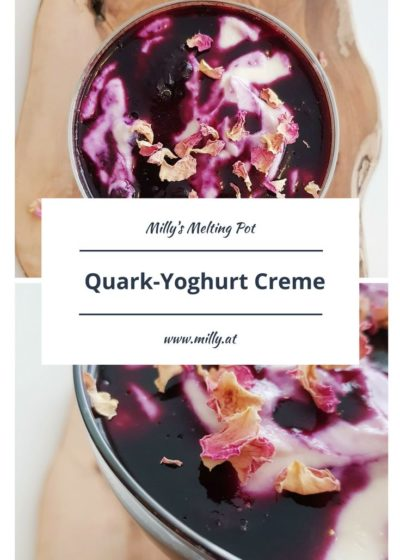 """This fresh, limey and sweet quark yoghurt creme is a great recipe for Valentine's Day or just as a delicious dessert for some guests or loved ones. It os prepared really quickly and can be made in a """"low carb"""" version very easily."""