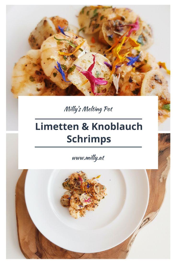 Probiere dieses schnelle Rezept für Limetten & Knoblauch Schrimps. Die Kombination ist wirklich gut und wird jeden begeistern - außerdem ist das Gericht in 15 Minuten fertig.