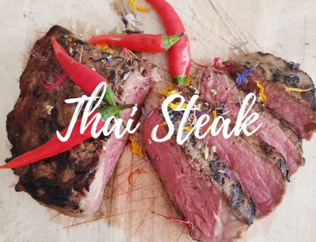 The best thai steak I had so far was in a restaurant in Luxembourg. But this recipe will have your mouth watering! So fresh and so satisfying:)