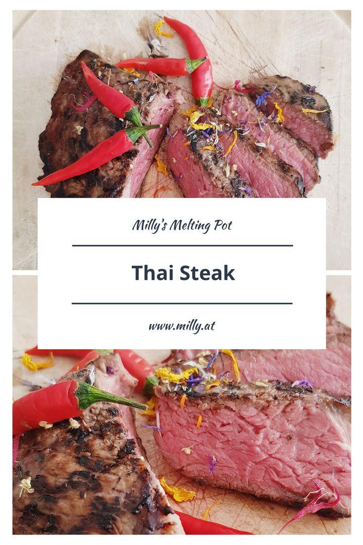 Das beste Thai Steak habe ich in Luxemburg in einem thailändischen Restaurant gegessen. Zum Glück habe ich diese Rezept nach vielem Herumprobieren gefunden, und es schmeckt! Mach auch Du dein Thai Steak zuhause ganz einfach nach!