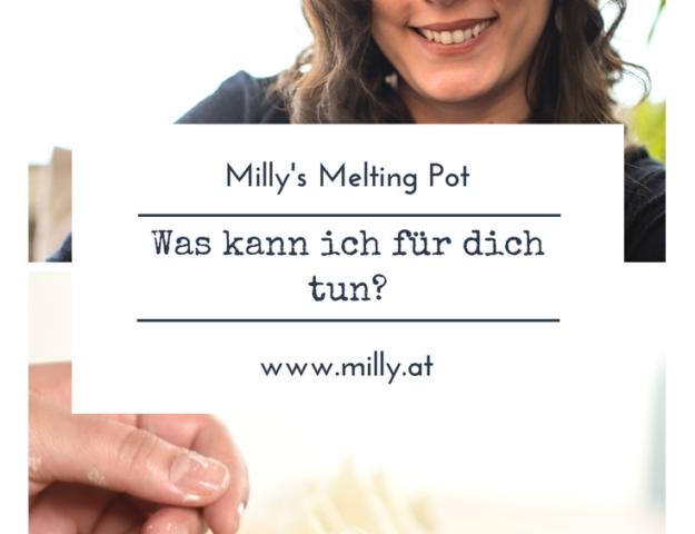 Wenn du mehr über Milly's Melting Pot wissen willst, dann bist du hier richtig! #blog