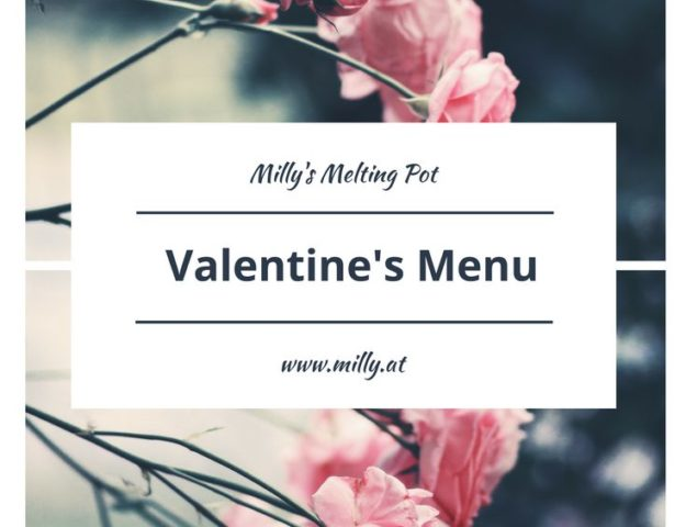 Discover my valentine's day menu with dishes from Milly's Melting Pot! Homemade butter, ciabatta bread, herb and cream soup, braised beef with truffled potato mash, and puffpastry roses as dessert! Yum :) #recipe #quick #easy #valentine