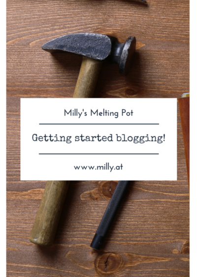 Do you want to start a blog or for example are you responsible for your companies social media presence? You feel like you don't know where to start and what to do? Well no worries: browse the tools I used when I started my blog! #blog #bloggingtips #tipsandtricks #buildablog