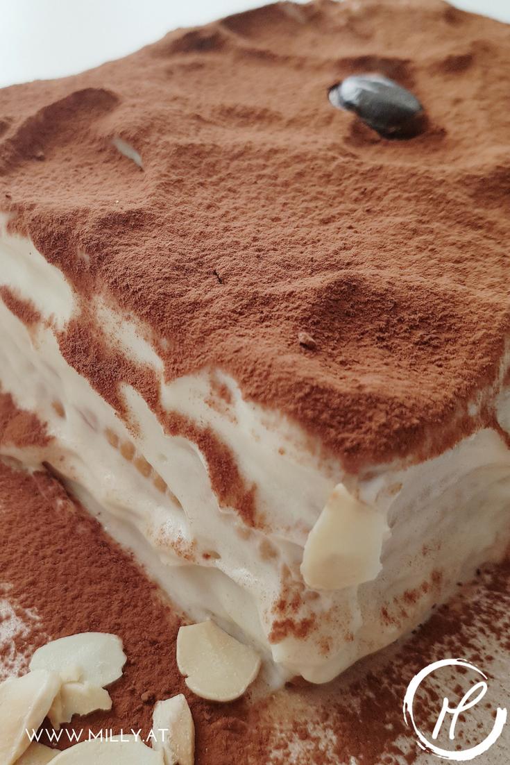 """In Luxemburg heisst dies Art von Kuchen """"Petit Beurre's Kuch"""" was soviel wie """"Butterkeks Kuchen"""" heisst. In den deutschsprachigen Ländern ist er aber eher unter dem Namen """"Kalter Hund"""" bekannt! #rezept #kalterhund #butterkeks #dessert #nobake"""