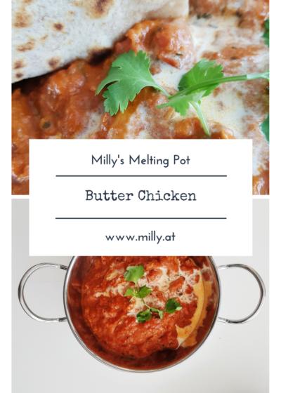 """Dieses Rezept gibt vor wie man das traditionelle """"Butter Chicken"""" , Hähnchen in Butter Sauce, zubereitet. #Rezept #butterchicken #kochkurs"""