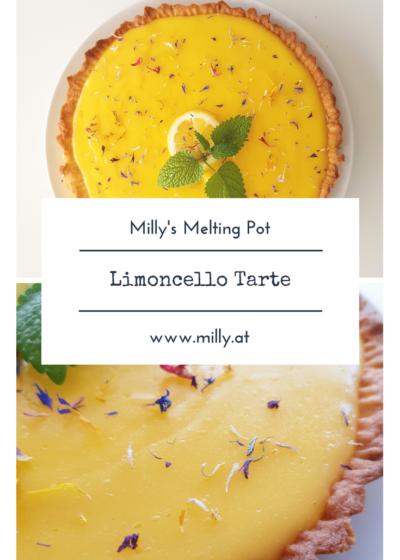 Der Frühling ist da und mit ihm der AUfschwung Neues auszuprobieren! Diese Limoncello Tarte ist schnell gemacht und wird jeden überzeugen! #Rezept #limoncello #Zitrone #Dessert #süß