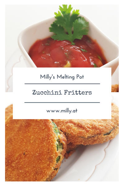 The zucchini bites, fried or baked in the oven,are ideal as a starter or on a salad. #recipe #quick #zucchini #starter #fingerfood