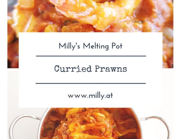 These quick curried prawns combines the heartyness of indian cuisine with some of the fresher elements of thai food! #recip #curry #shrimp #thai #indian