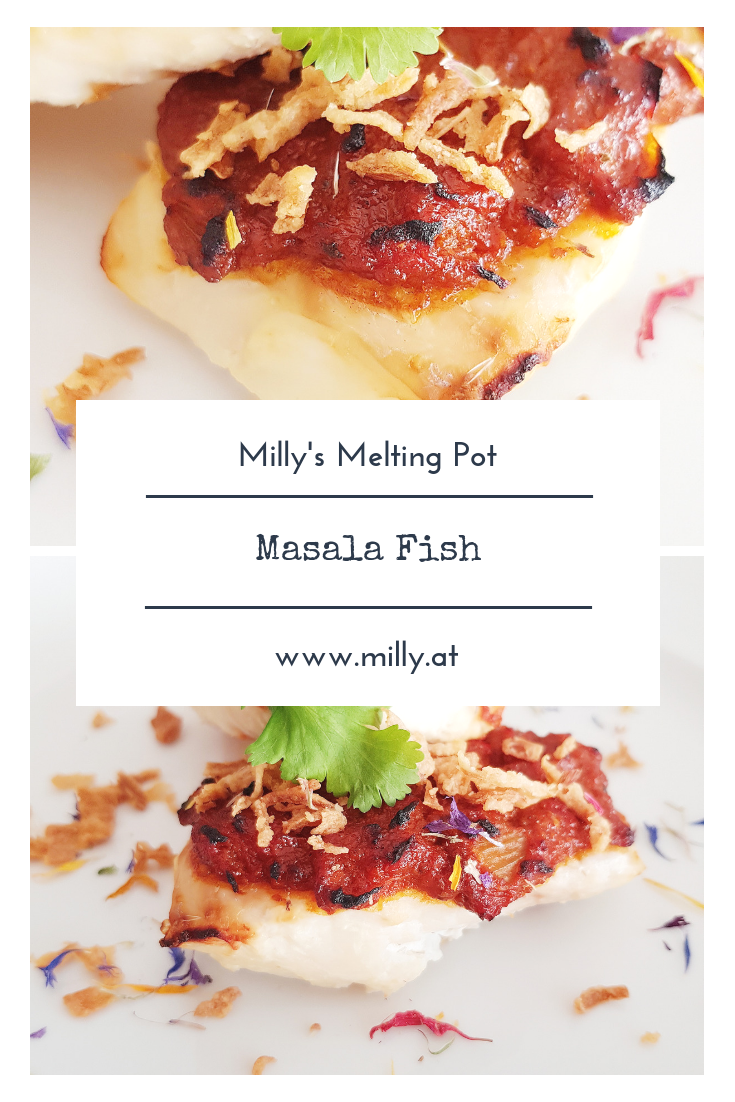This masala fish is a quick and easy dinner idea and a really great alternative for your meatfree meals! #recipes #dinner #meatfree #indian #fish #masala