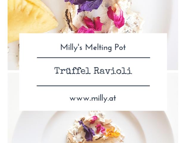Ich wollte noch ein einfaches aber sehr feines Rezept für spezielle Anlässe mit dir teilen - meine Trüffel Ravioli. Einfach zuzubereiten und köstlich!