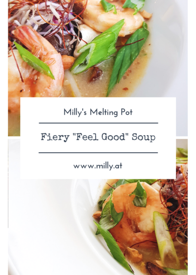 This fiery soup with thai and cambidian influences will warm your soul and give you a healthy and full meal!