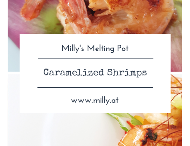 Fresh caramelized shrimps are done in a jiffy and absolutely delicious - sweet meat and tangy lime! The flavors are unbeatable!