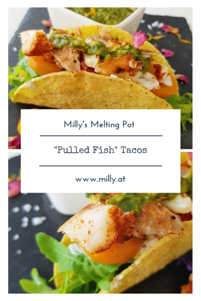 In true fusion food fashion - these tacos combine 2 very important things: they are delicious, and they make you love fish!!!