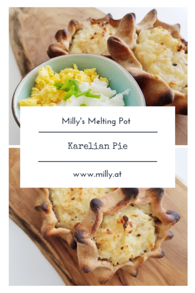 When I visited Finland, I had the privilege of tasting these lovely local karelian pies made with rye dough and rice! #finland #rye #karelianpie