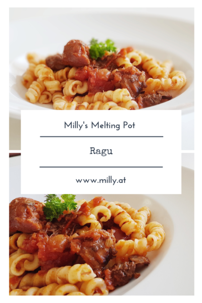 Do you remember ever traveling to Italy and you would eat the best pasta with ragu you have ever tasted? Well try this recipe and tell me what you think!
