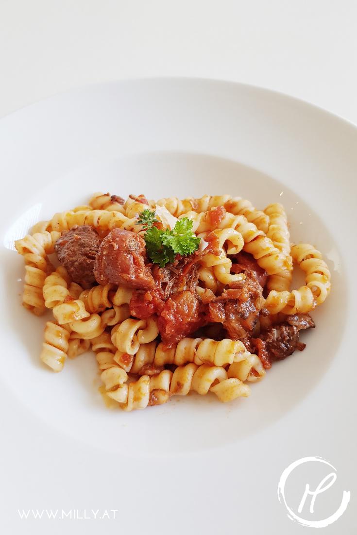 Erinnerst du dich, wenn du im Italien Urlaub in einer Spelunke die beste Pasta mit Ragu gegessen hast, die du je gekostet hast?