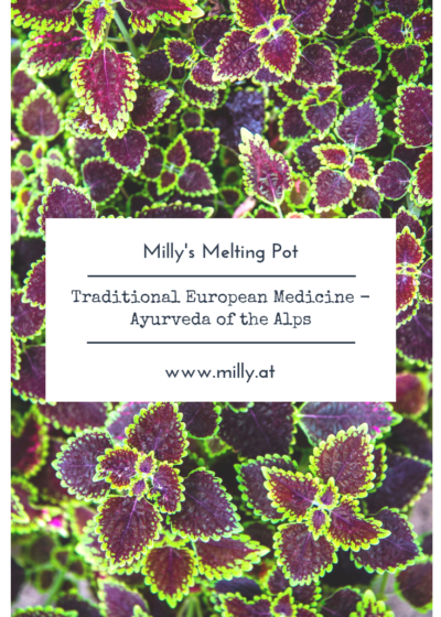 In Europe we are lucky to have Traditional European Medicine, which primarily deals with local plants and their medicinal benefits.
