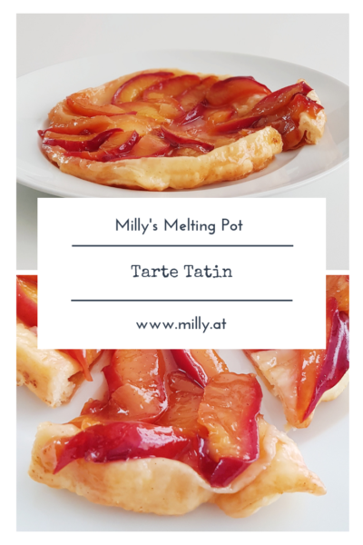 How these upside down tartes were discovered or invented is still unclear, but the french tarte tatin is traditionally baked with the fruit at the bottom.