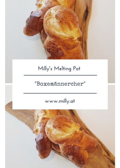 """The 6th of december is an important day in Luxemburg, especially for kids - it's St. Nicolas day! And one cake I really miss here is the traditional """"Boxemännchen"""" - a little man made of a yeast dough."""