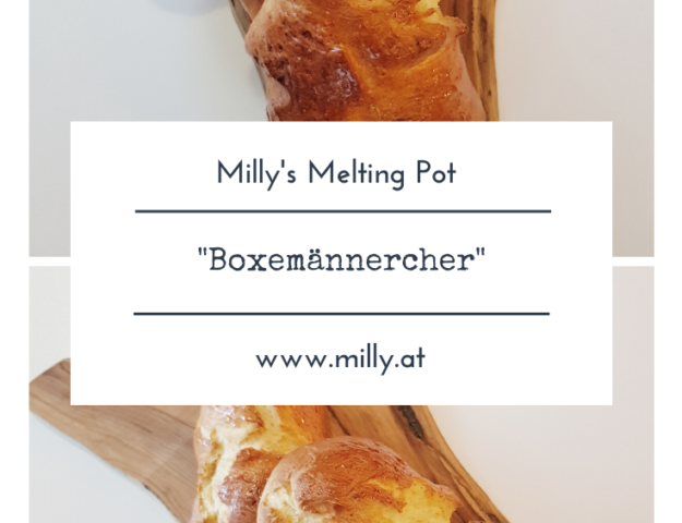 "The 6th of december is an important day in Luxemburg, especially for kids - it's St. Nicolas day! And one cake I really miss here is the traditional ""Boxemännchen"" - a little man made of a yeast dough."