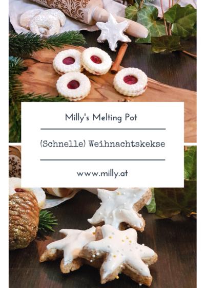 Meine Lieblingsrezepte für Weihnachtskekse: Lebkuchen, Linzer Augen, Vanillekipferl, Zimtsterne und ein schnelles Rezept für Spekulatius.